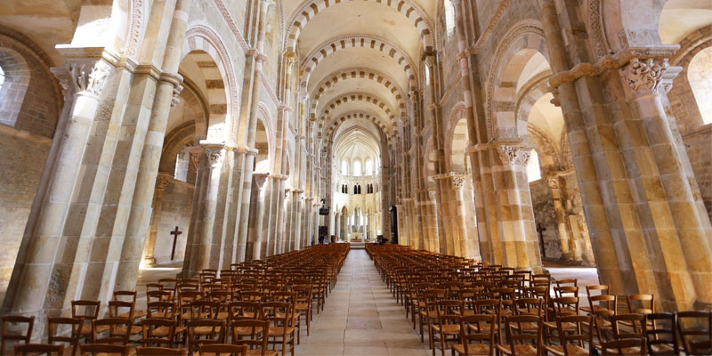 Basilica of St. Mary Magdalene in Vezelay